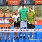 Дарья Касаткина – профессиональная теннисистка, пробная игра в падел в Мадриде.