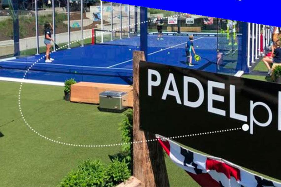 Падел-теннис простирается на всей территории Соединенных Штатов Америки