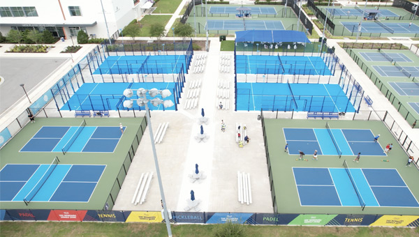 The development of the game of padel in the world